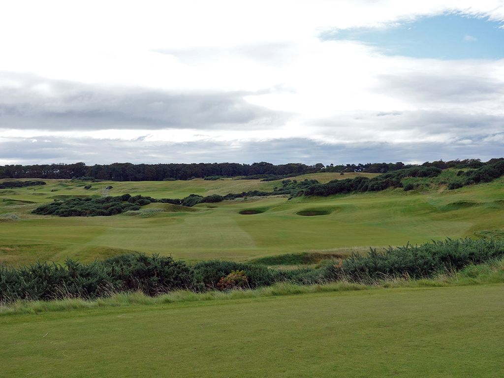6th Hole at Kingsbarns Golf Links (338 Yard Par 4)