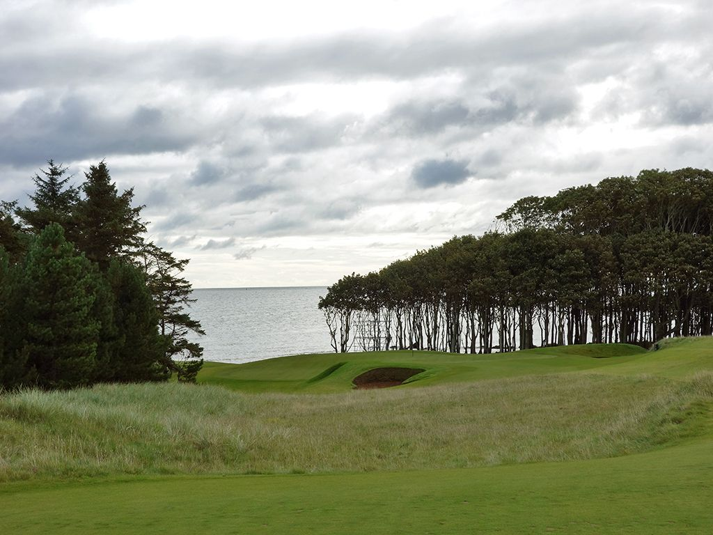 8th Hole at Kingsbarns Golf Links (168 Yard Par 3)