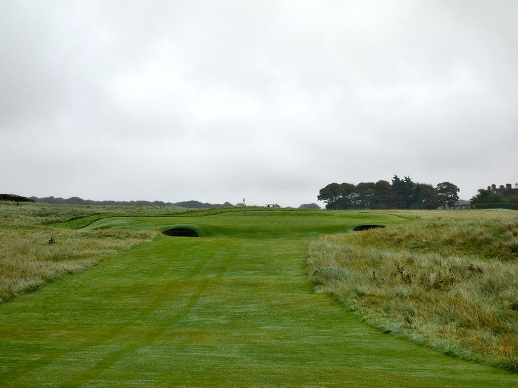 16th Hole at Muirfield (186 Yard Par 3)