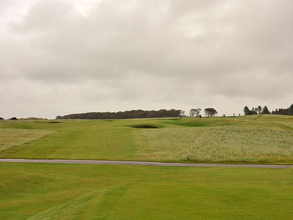 5th Hole at Muirfield (559 Yard Par 5)