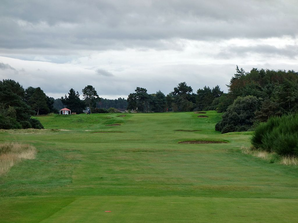 13th (Crown) Hole at Nairn Golf Club (431 Yard Par 4)