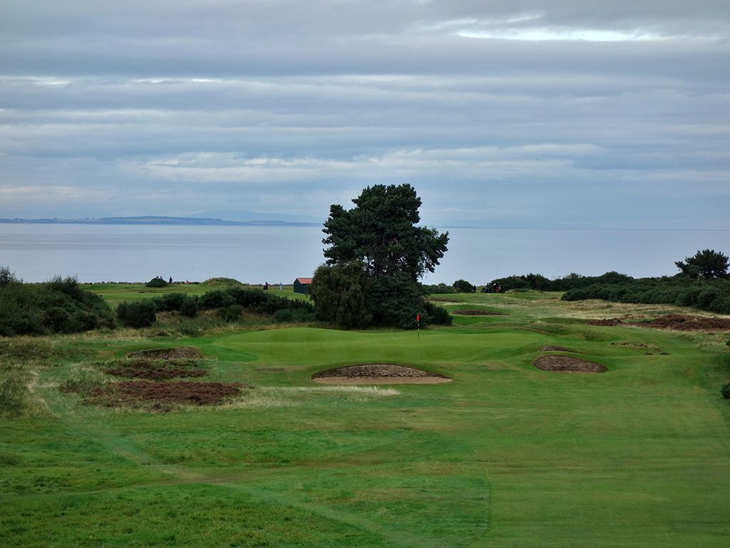 14th (Kopjes) Hole at Nairn Golf Club (219 Yard Par 3)