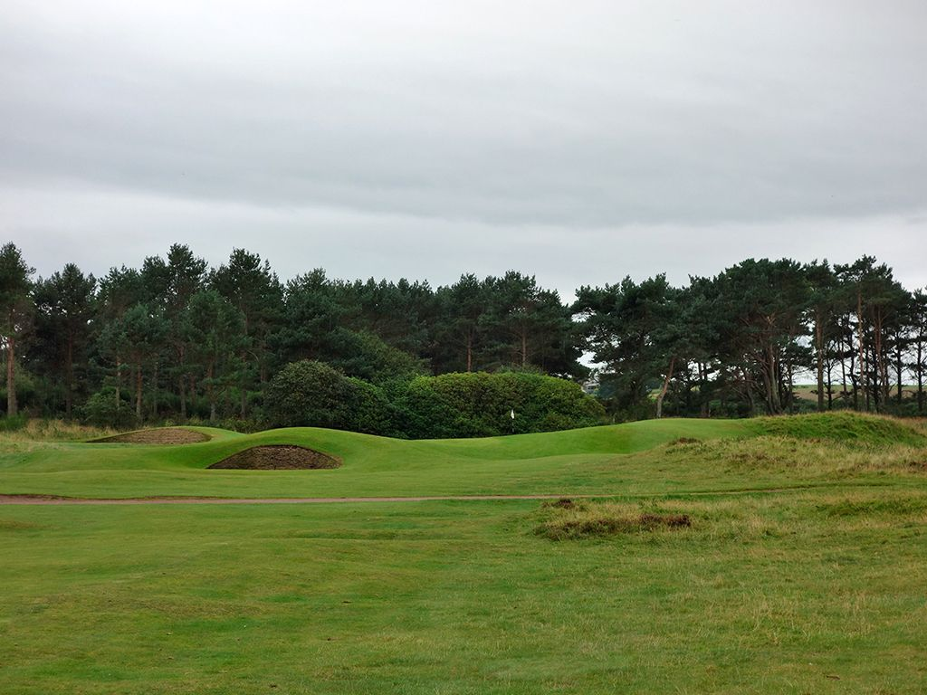 3rd (Nest) Hole at Nairn Golf Club (413 Yard Par 4)