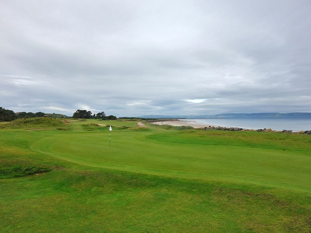 4th (Bunker) Hole at Nairn Golf Club (172 Yard Par 3)