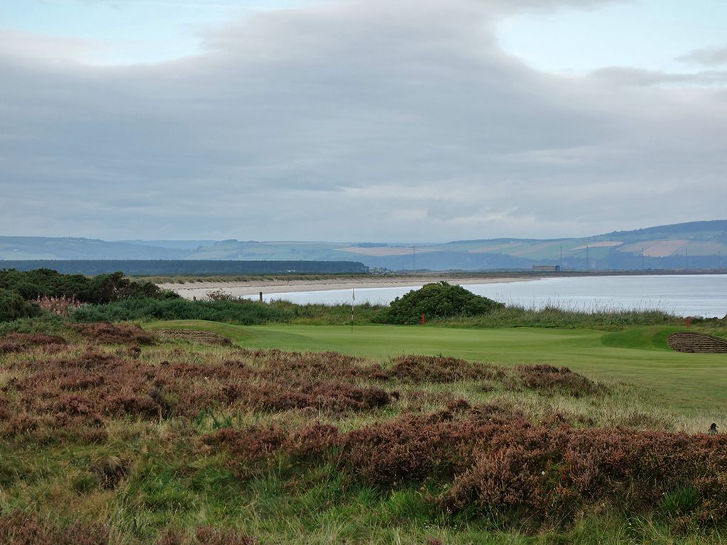 7th (Long) Hole at Nairn Golf Club (550 Yard Par 5)