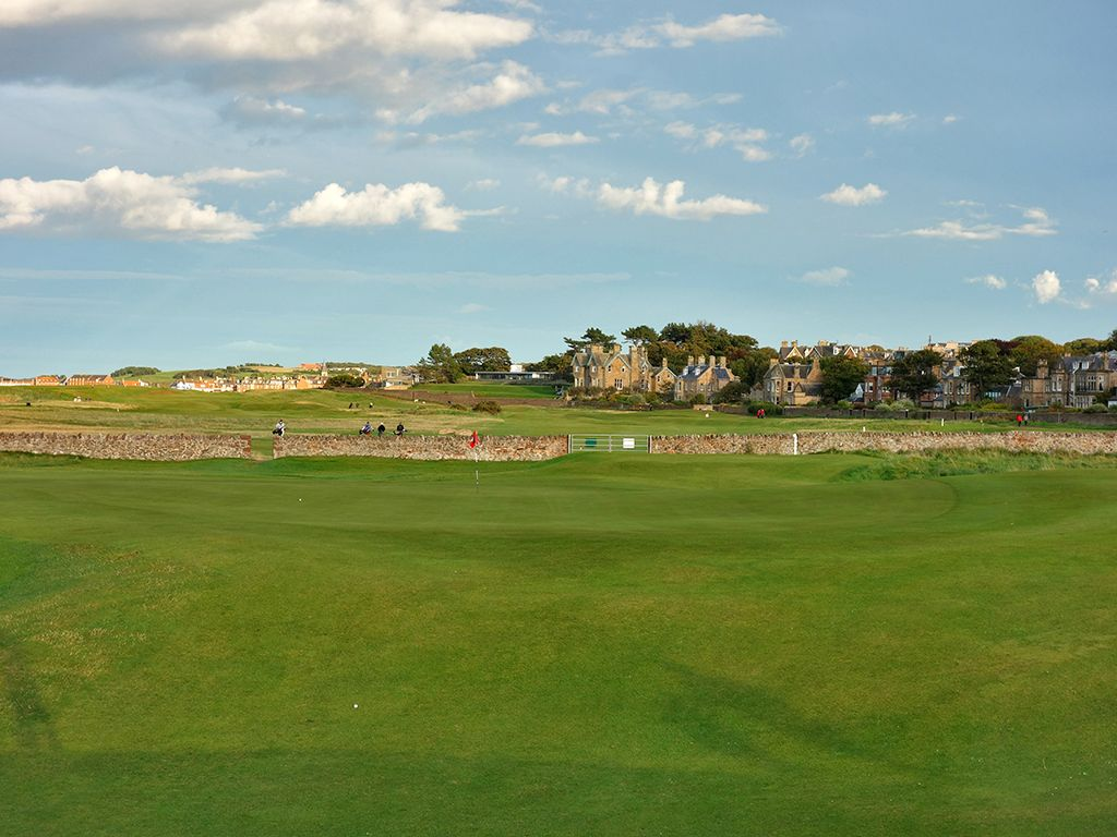 15th (Redan) Hole at North Berwick Golf Club (West Links) (190 Yard Par 3)