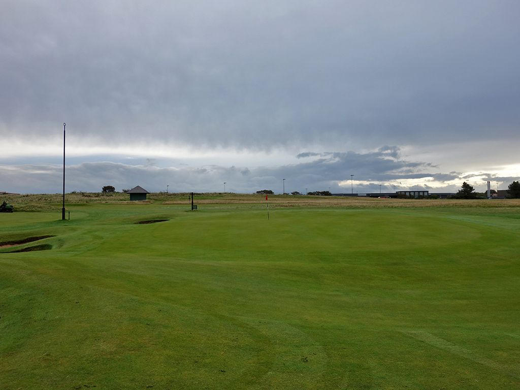 5th (Himalayas) Hole at Prestwick Golf Club (231 Yard Par 3)