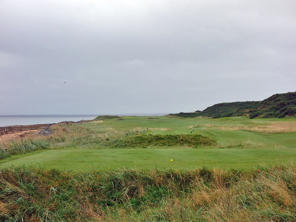 9th (Craigliath) Hole at Royal Dornoch (Championship) (529 Yard Par 5)