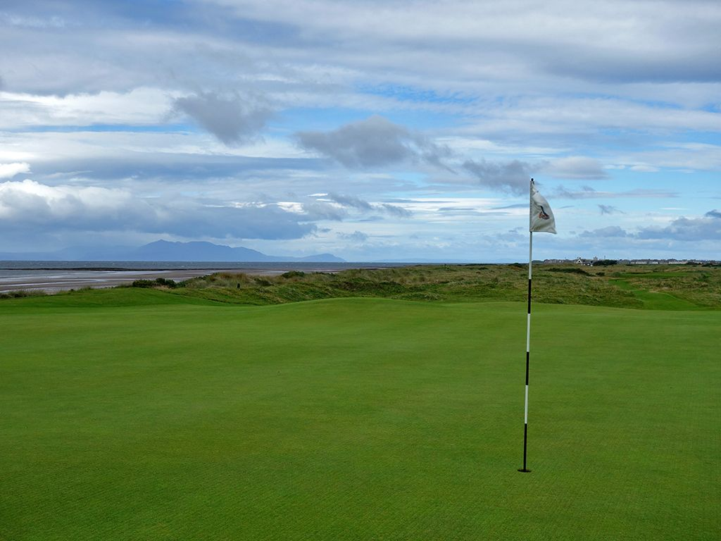 5th (Greenan) Hole at Royal Troon Golf Club (Old) (210 Yard Par 3)
