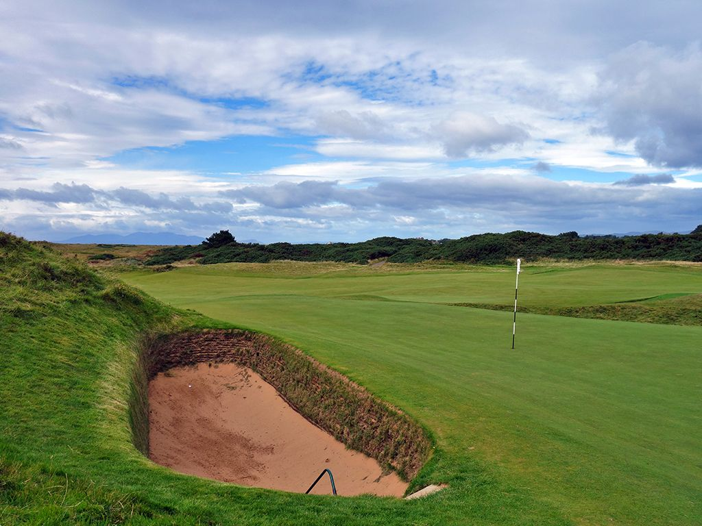 8th (Postage Stamp) Hole at Royal Troon Golf Club (Old) (123 Yard Par 3)