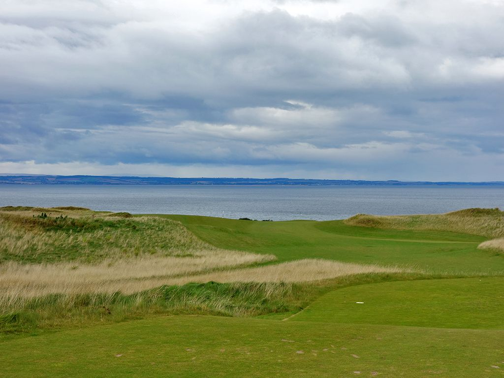 6th Hole at St Andrews Links (Castle) (421 Yard Par 4)