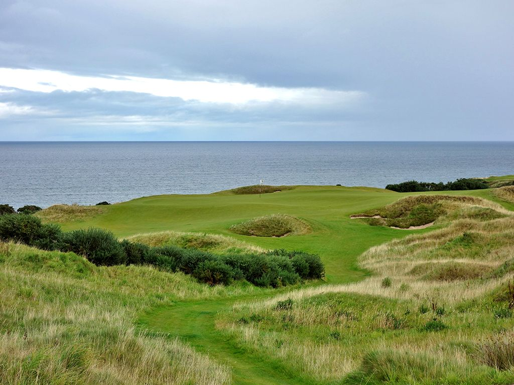 8th Hole at St Andrews Links (Castle) (141 Yard Par 3)