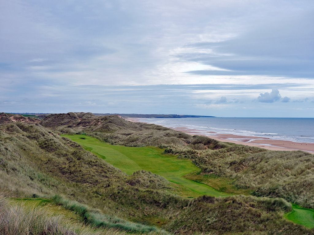 14th Hole at Trump International Golf Links Scotland (445 Yard Par 4)