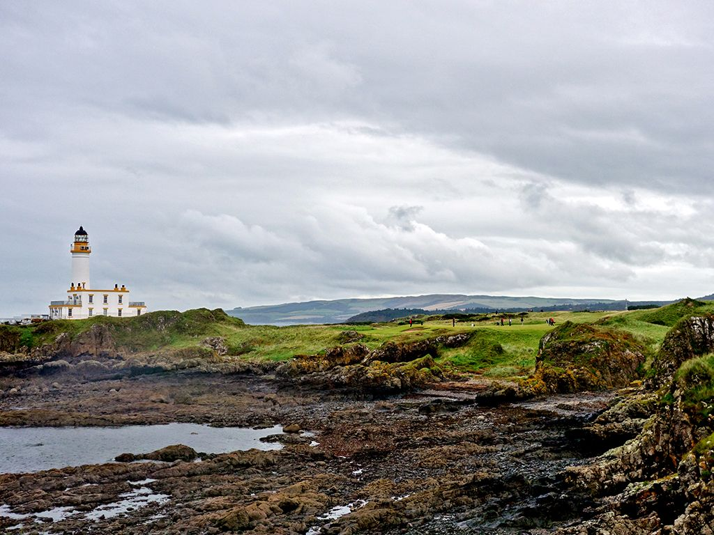 9th Hole at Trump Turnberry (Ailsa)