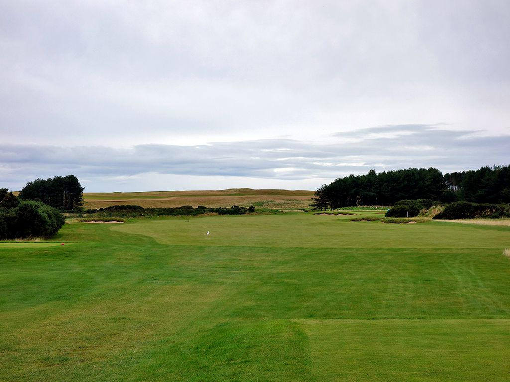 5th Hole at Trump Turnberry (King Robert the Bruce) (461 Yard Par 4)