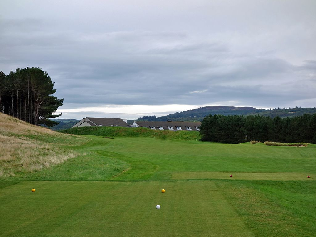 7th Hole at Trump Turnberry (King Robert the Bruce) (406 Yard Par 4)