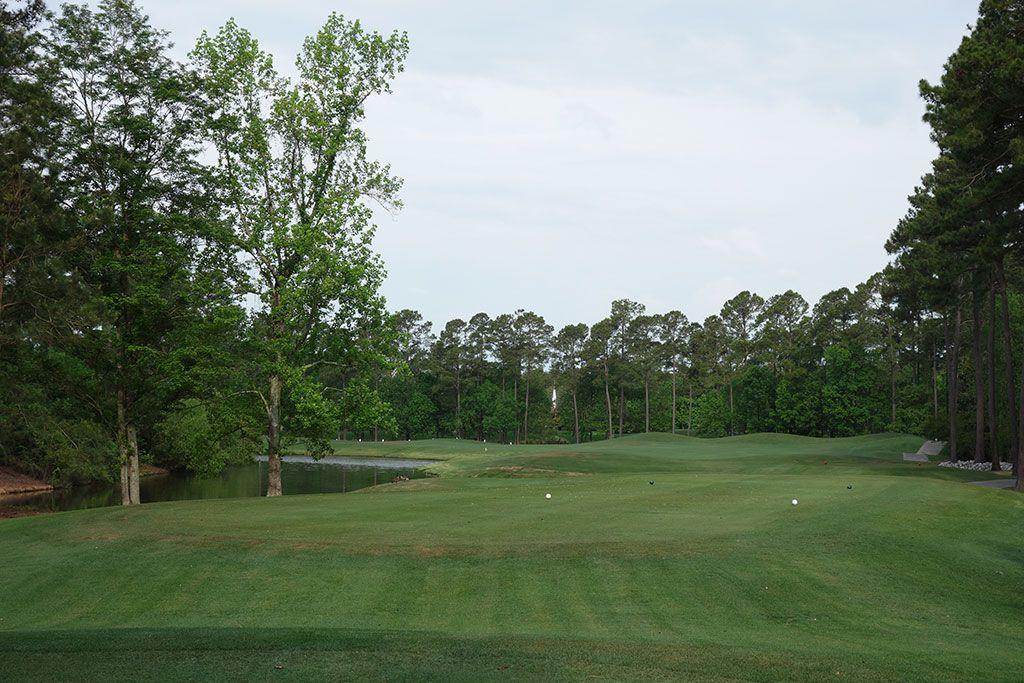 9th (Lakes) Hole at Arrowhead Country Club (521 Yard Par 5)