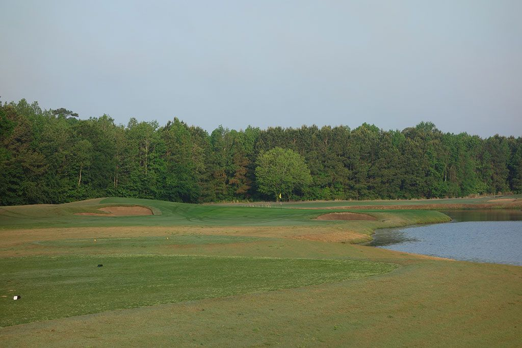 3rd Hole at Barefoot Resort & Golf (Love) (191 Yard Par 3)