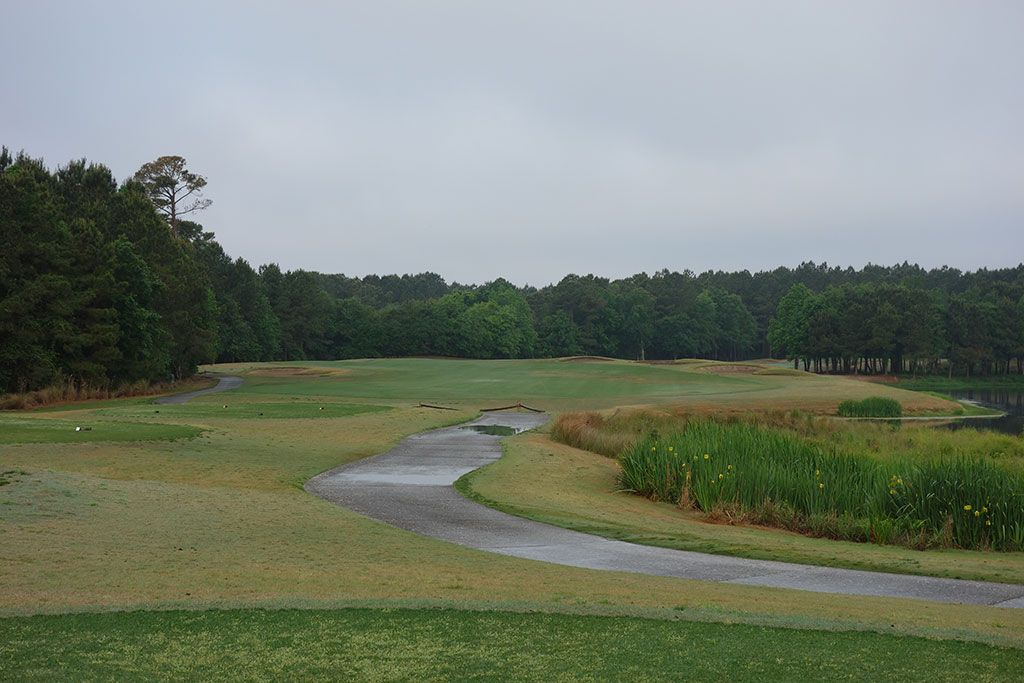 5th Hole at Barefoot Resort & Golf (Love) (463 Yard Par 4)