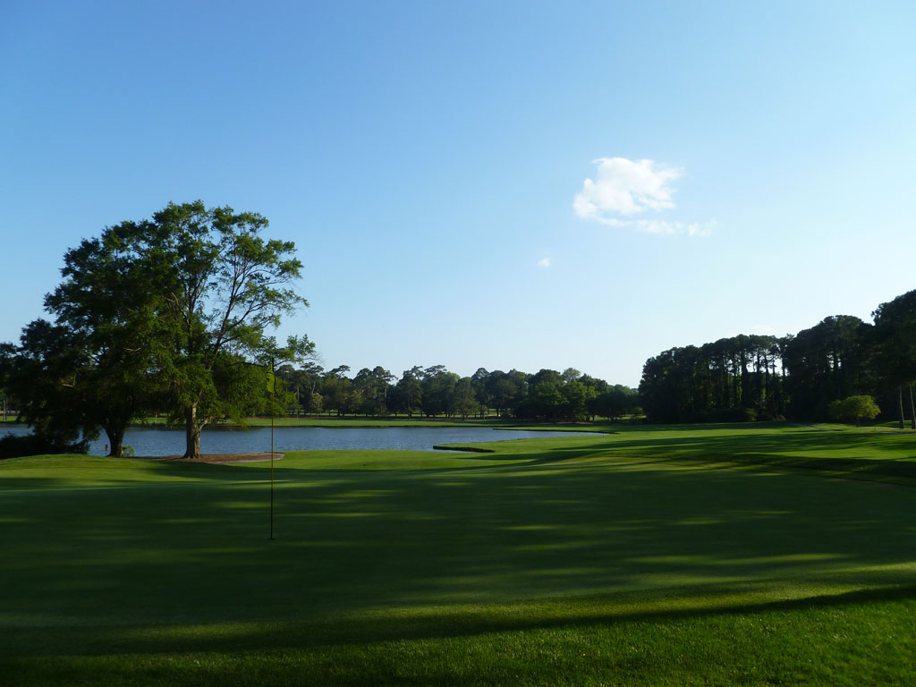 13th Hole at Dunes Golf and Beach Club (590 Yard Par 5)