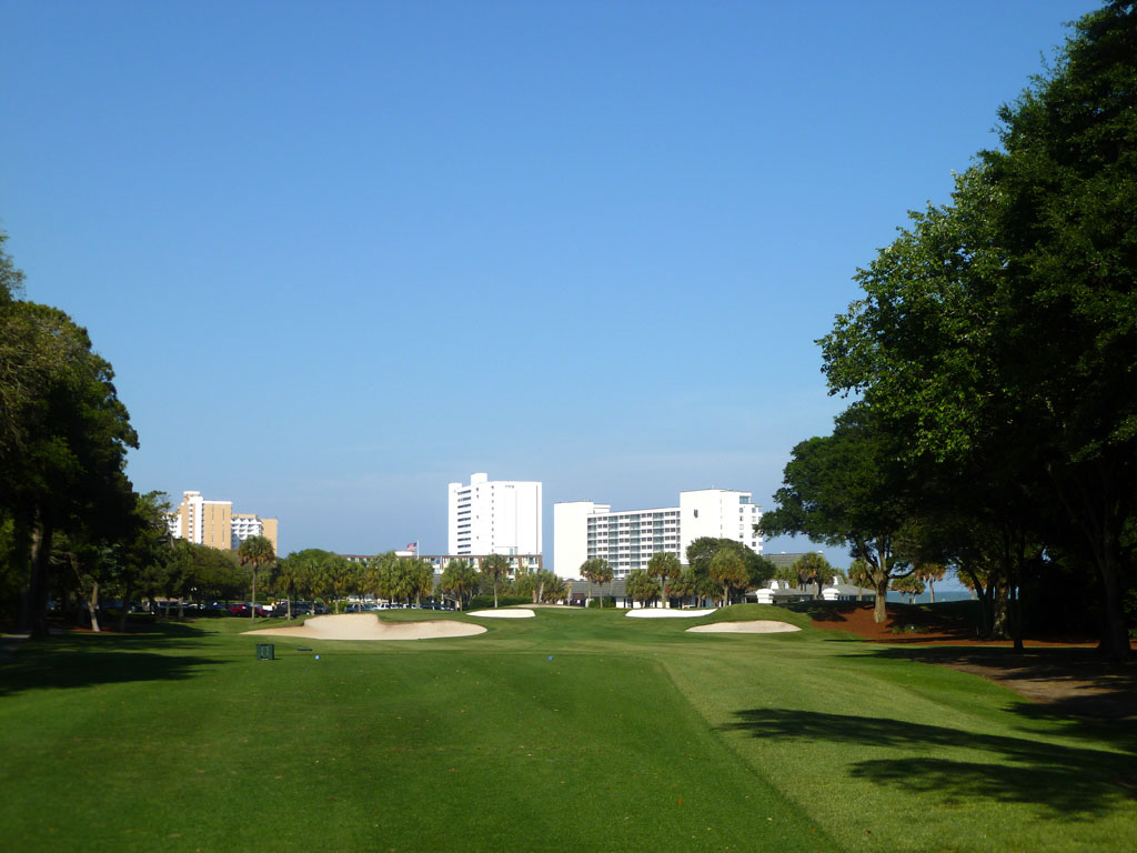 9th Hole at Dunes Golf and Beach Club (200 Yard Par 3)