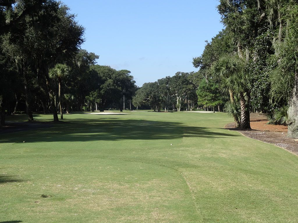 13th Hole at Harbour Town Golf Links (373 Yard Par 4)