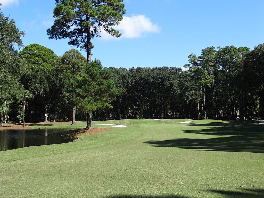 15th Hole at Harbour Town Golf Links (588 Yard Par 5)