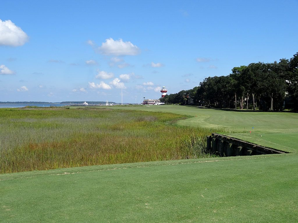 18th Hole at Harbour Town Golf Links (472 Yard Par 4)