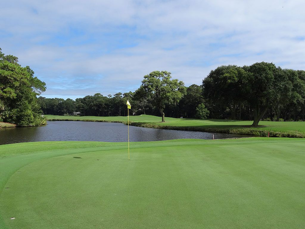 15th Hole at Kiawah Island Resort (Cougar Point) (542 Yard Par 5)