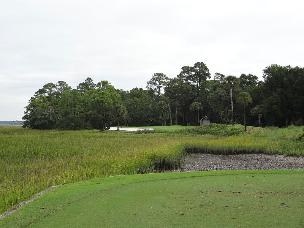 6th Hole at Kiawah Island Resort (Cougar Point) (180 Yard Par 3)