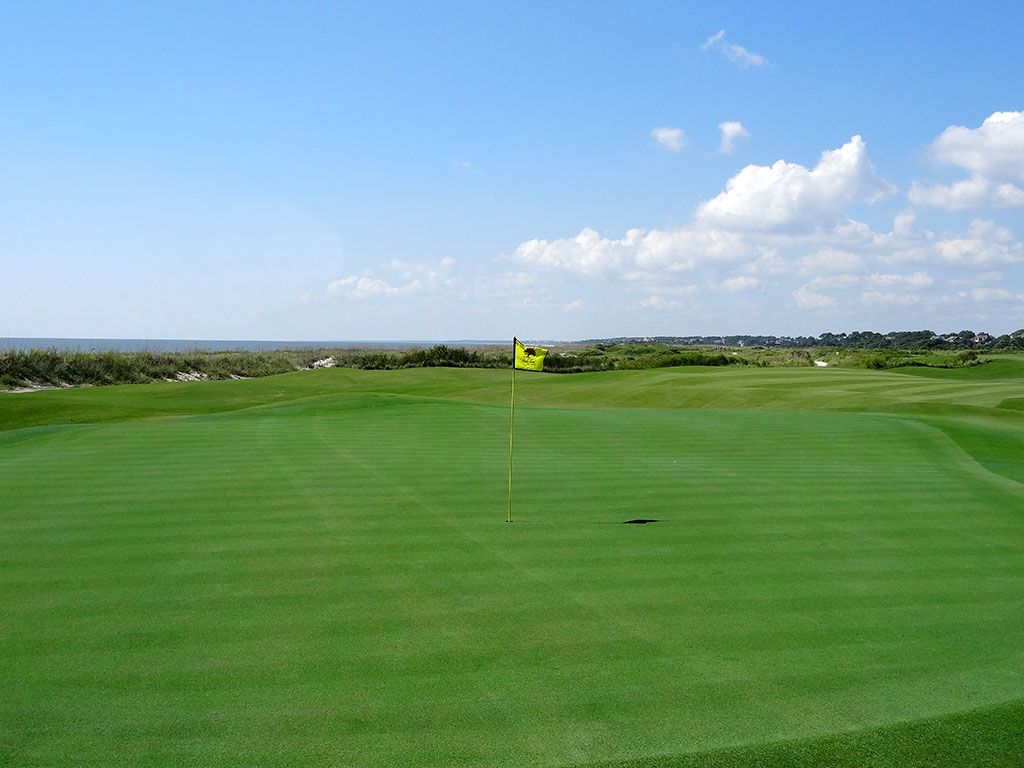 18th Hole at Kiawah Island Resort (Ocean) (439 Yard Par 4)