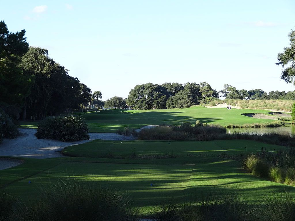 16th Hole at Kiawah Island Club (River) (529 Yard Par 5)