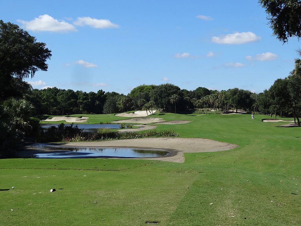 5th Hole at Kiawah Island Club (River) (343 Yard Par 4)