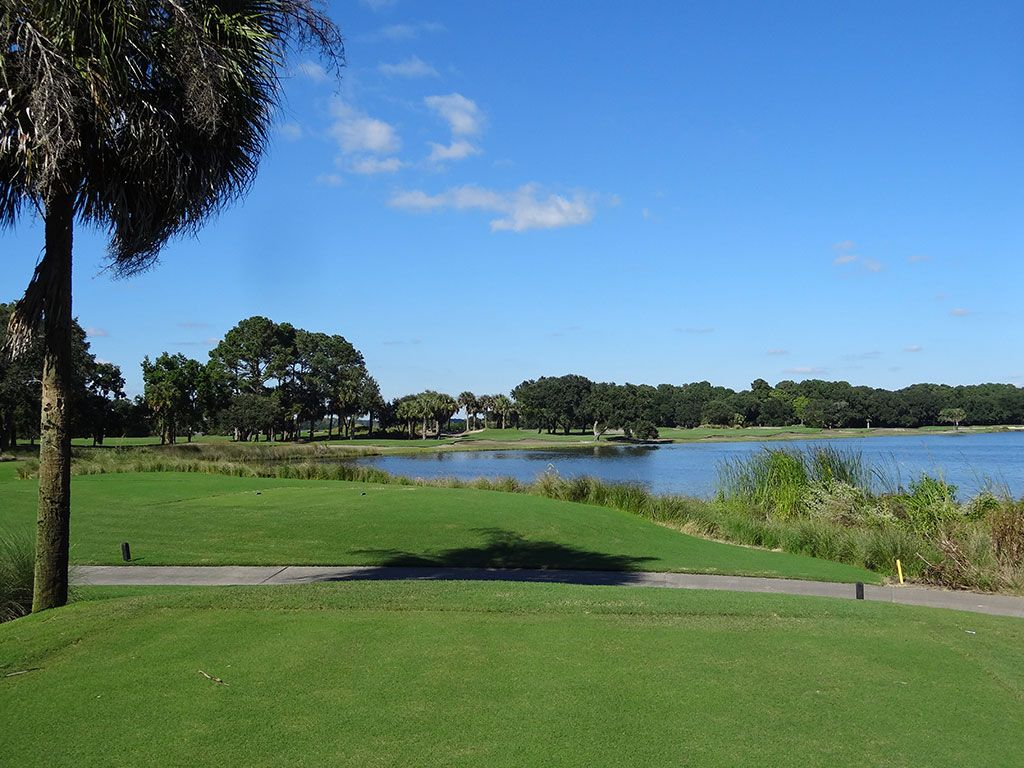 8th Hole at Kiawah Island Club (River) (547 Yard Par 5)