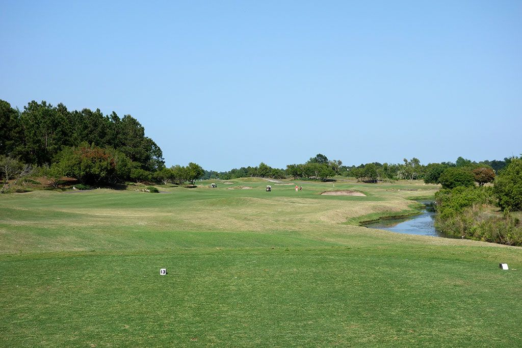 13th Hole at Legends Resort (Heathland) (539 Yard Par 5)