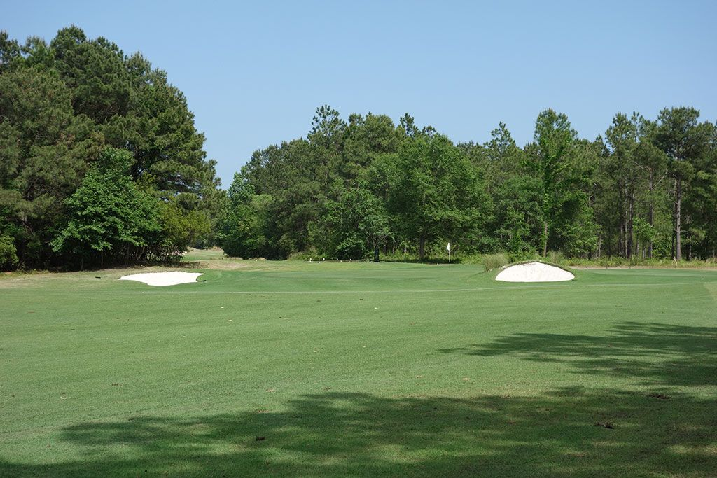 6th Hole at Legends Resort (Heathland) (461 Yard Par 4)