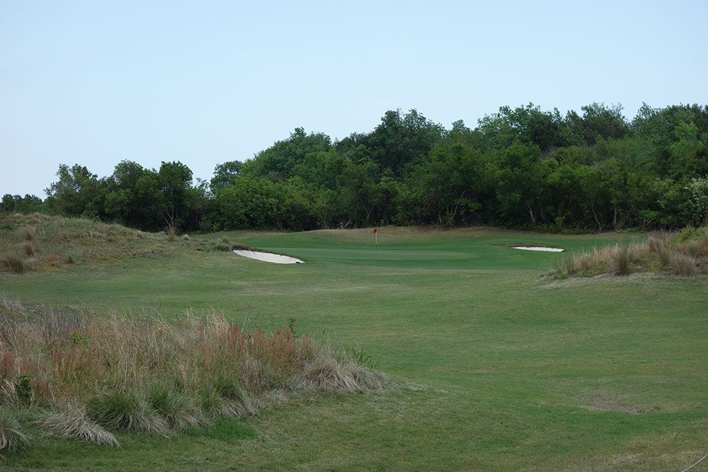 8th Hole at Legends Resort (Heathland) (150 Yard Par 3)