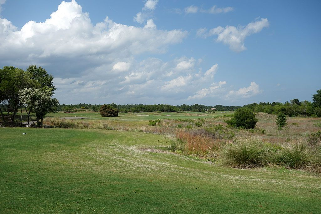 9th Hole at Legends Resort (Heathland) (442 Yard Par 4)