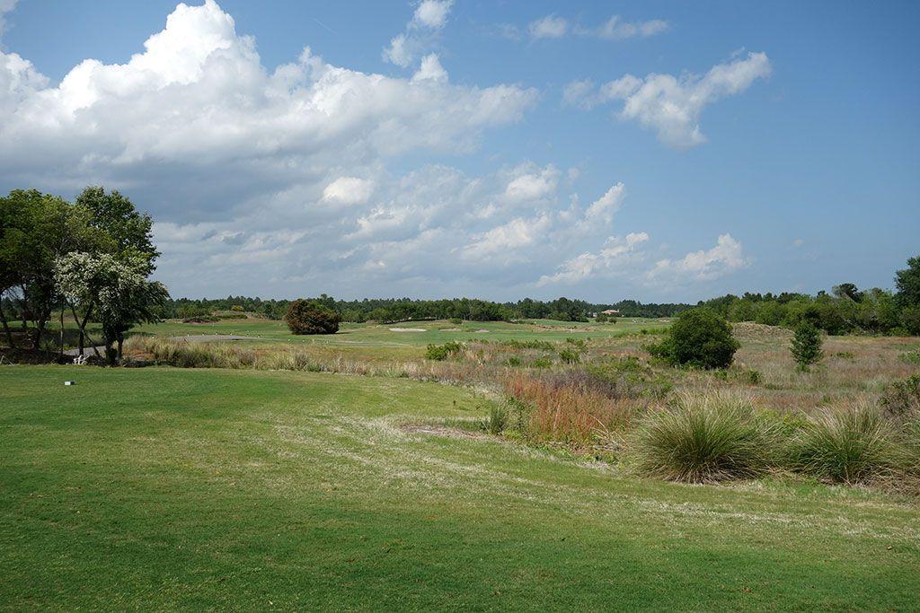 9th Hole at Legends Resort (Heathland) (442 Yard Par 4)