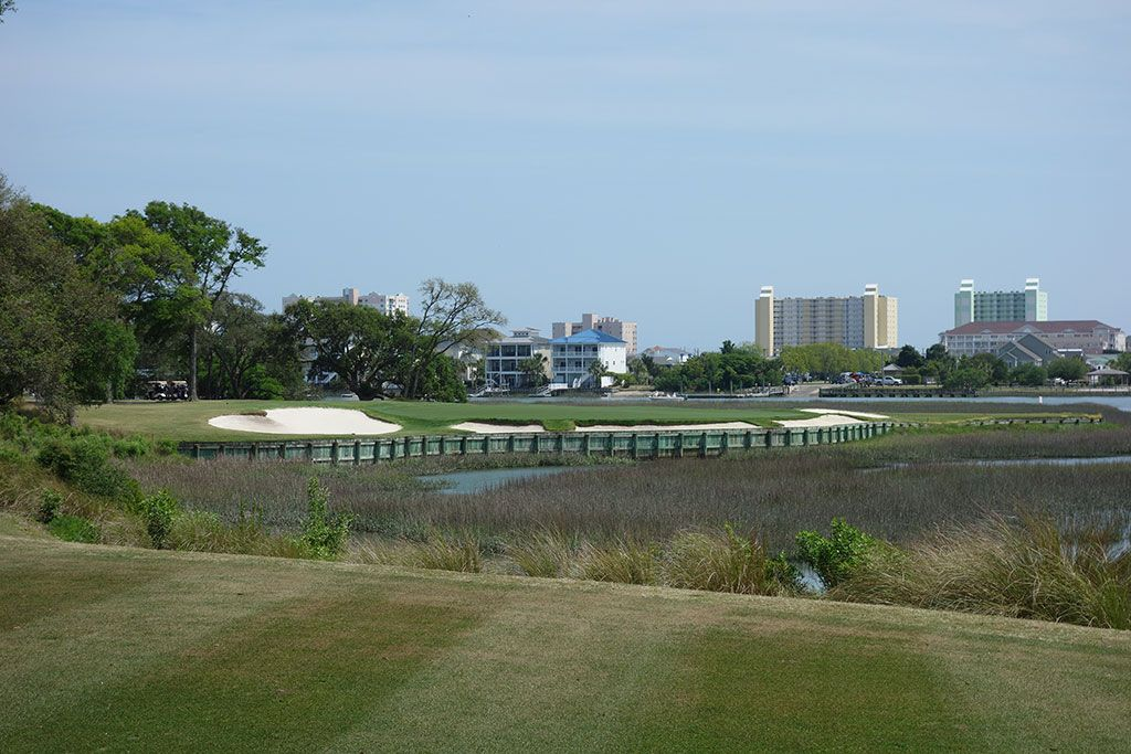 12th Hole at Tidewater Golf Club (189 Yard Par 3)