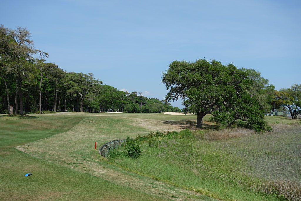 13th Hole at Tidewater Golf Club (543 Yard Par 5)