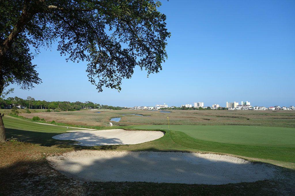 4th Hole at Tidewater Golf Club (430 Yard Par 4)