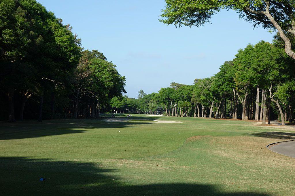5th Hole at Tidewater Golf Club (468 Yard Par 4)