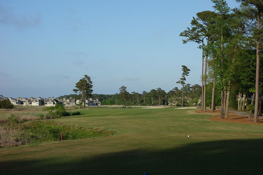 8th Hole at Tidewater Golf Club (485 Yard Par 5)