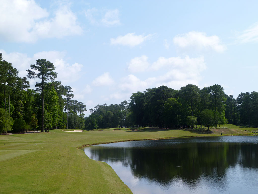 16th Hole at TPC Myrtle Beach (390 Yard Par 4)