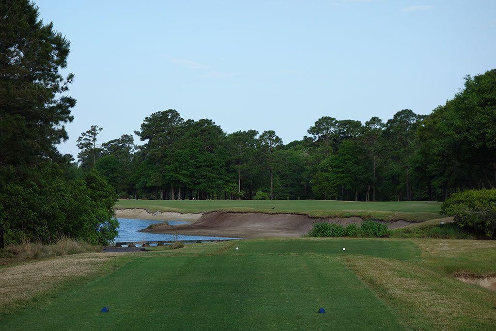 4th Hole at True Blue Golf Club (548 Yard Par 5)