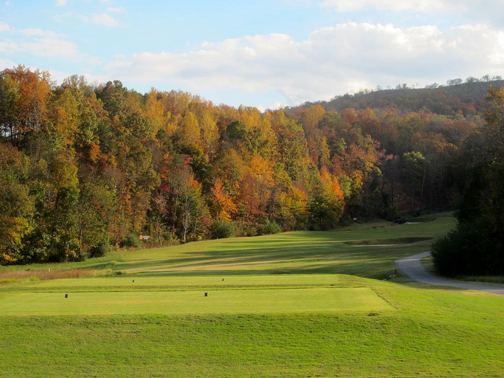 13th (Long) Hole at Black Creek Golf Club (485 Yard Par 4)
