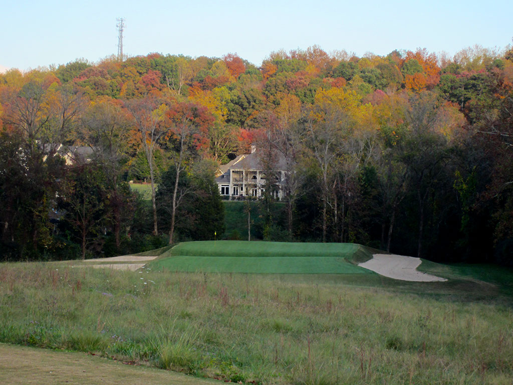 17th (Biarritz) Hole at Black Creek Golf Club (243 Yard Par 3)