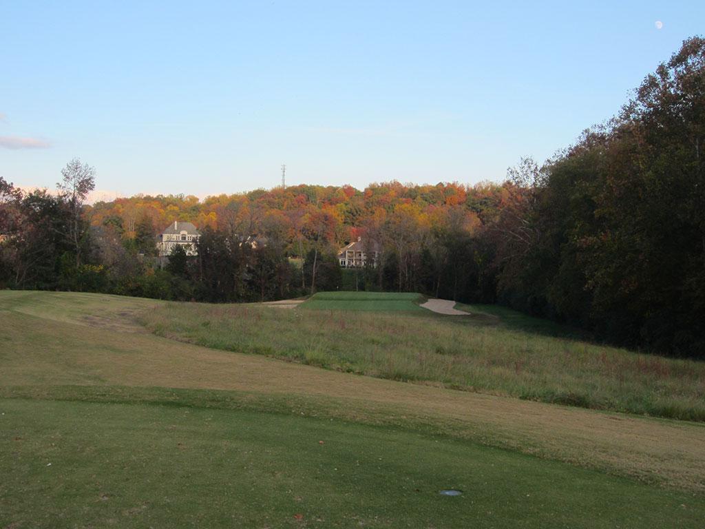 17th (Biarritz) Hole at Black Creek Golf Club (243 Yard Par 3)