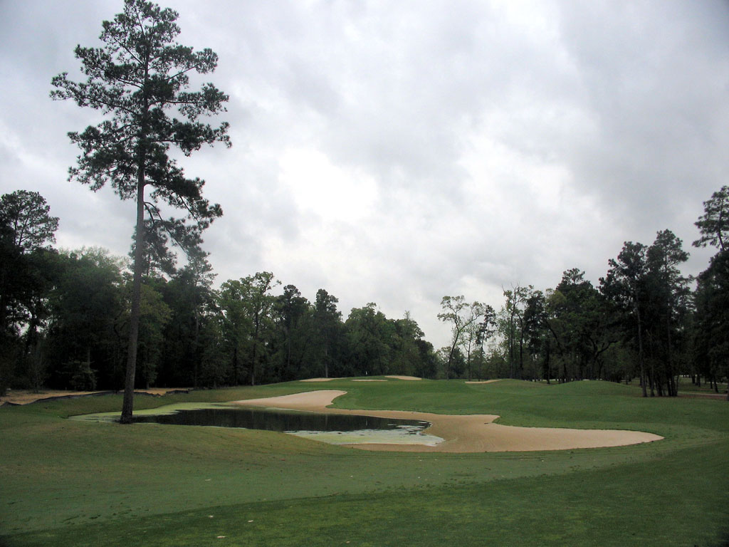 11th Hole at Augusta Pines (408 Yard Par 4)